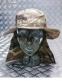 Панама Британской армии с защитой шеи, оригинал - Original British (Камуфляж) 1