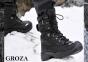 Берцы штурмовые GROZA-W U1-800 гидрофобная кожа утеплитель Thinsulate - Zenkis (Черные) 0