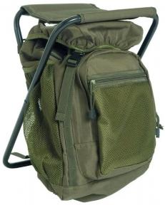 Рюкзак с раскладным стульчиком 20 л - Mil-Tec (Оливковый)