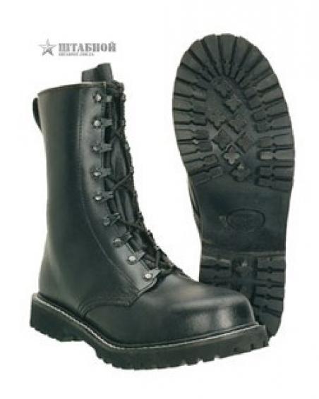 Ботинки десант. Para Rangers BW с усиленным носком - Mil-tec (Черные)