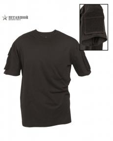 Футболка тактическая с коротким рукавом - Mil-tec (Черная)