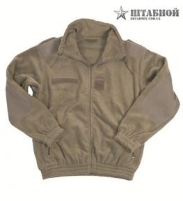 Французская флисовая куртка - Mil-tec (Оливковая)