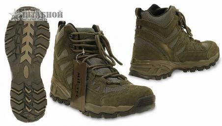 Ботинки Trooper 5 - Mil-tec (Оливковые)