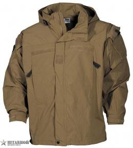 Куртка SoftShell GENIII - Max Fuchs (Койот)