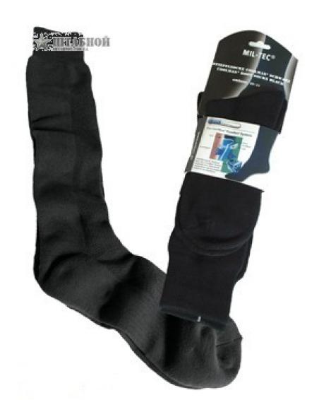 Носки высокие Coolmax - Mil-tec (Черные)