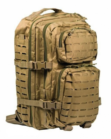 Рюкзак штурмовой Assault LazerCut 36 л - Mil-Tec (Койот)