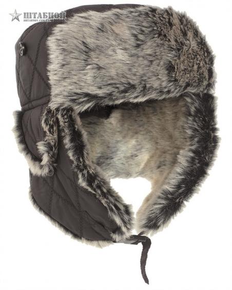 Зимняя шапка-ушанка - Mil-tec (Черная)