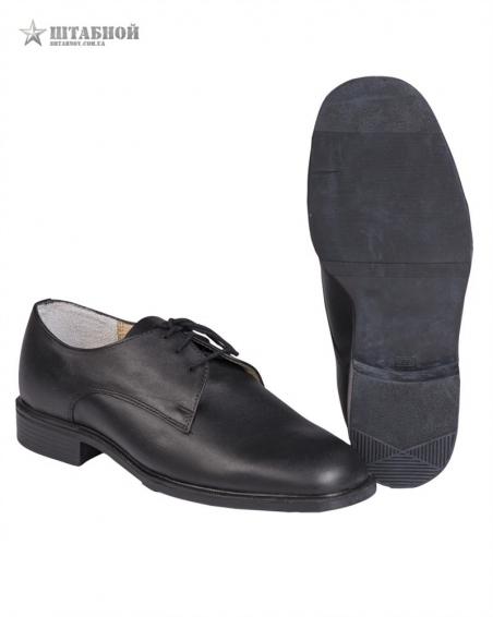 Туфли кожаные - Mil-tec (Черные)