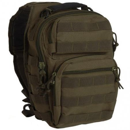Рюкзак через плечо Assault 8,5 л - Mil-Tec (Оливковый)