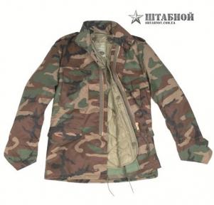 Куртка М65 с подкладкой - Mil-tec (Лиственная)