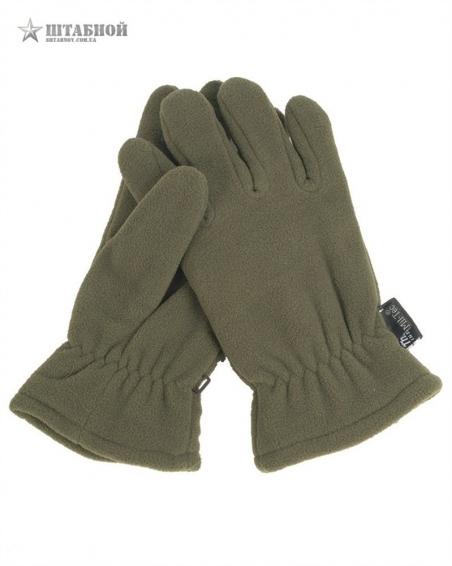 Флисовые перчатки Thinsulate - Mil-tec (Оливковые)