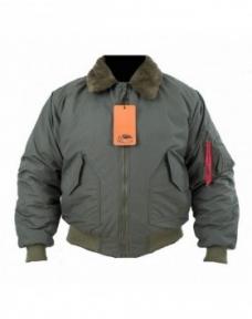 Куртка cwu c меховым воротником - Chameleon (Оливковая)
