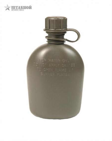 Фляга пластиковая Mil-Tec 1Qt (Оливковая)