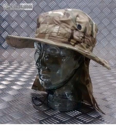 Панама Британской армии с защитой шеи, оригинал - Original British (Камуфляж)
