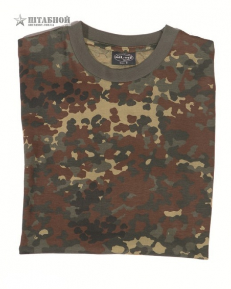 Камуфлированная футболка - Mil-tec (Flectarn)