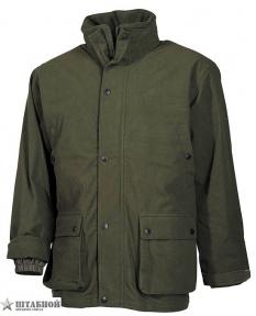 Куртка трикотаж, водонепроницаемая - Max Fuchs (Оливковая)