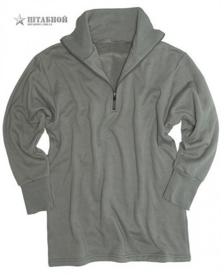 Рубашка трикотажная зимняя с молнией - Mil-tec (Лиственная)