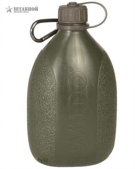 Фляга Шведская Mil-Tec 0,7L (Оливковая)