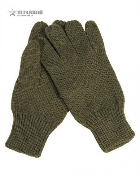 Перчатки зимние вязаные - Mil-tec (Оливковые)