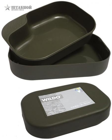 Пластиковый контейнер Wildo Camp-A-Box Mil-tec (Оливковый)