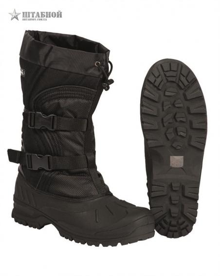 Ботинки зимние Snow Boots Arctic - Mil-tec (Черные)