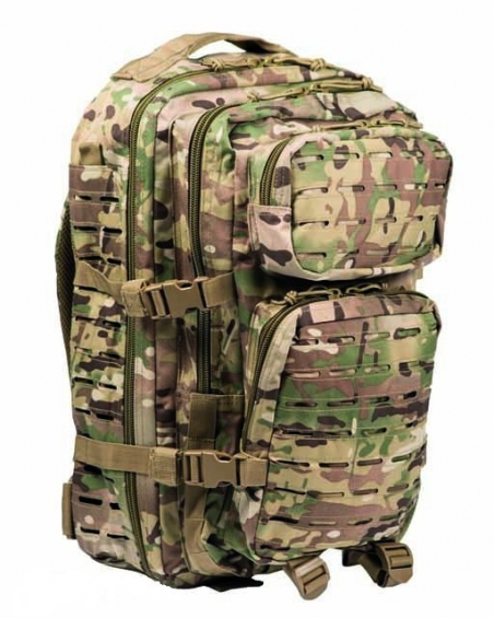 Рюкзак штурмовой LazerCut 36 л Assault - Mil-Tec (Мультикам)