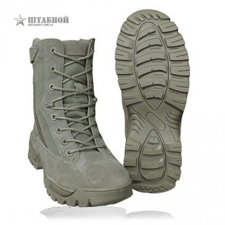 Ботинки тактические 2 молнии - Mil-tec  Foliage