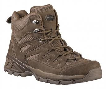 Ботинки тактические Squad 5 inch - Mil-tec (Brown)