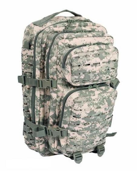 Рюкзак штурмовой Assault LazerCut 36 л Mil-Tec (Камуфляжный)