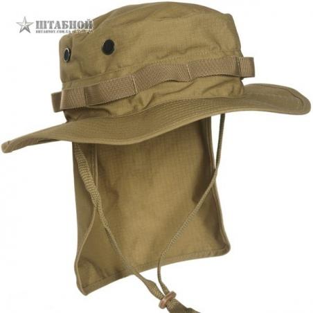 Панама брит. спецназа с защитой шеи - Mil-tec (Койот)