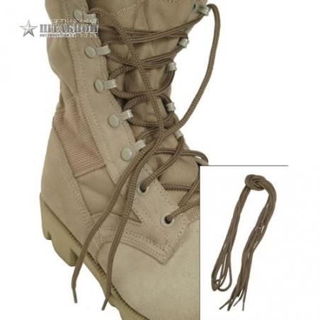 Шнурки 140 см - Mil-tec (Койот)