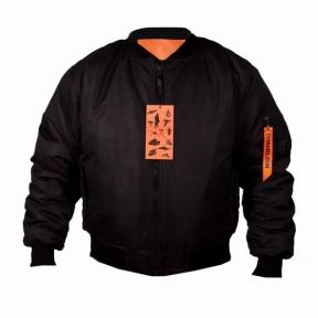 Куртка ma-1 - Chameleon (Черная)