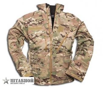 Куртка тактическая SCU14 Soft Shell - Mil-tec (Мультикам)