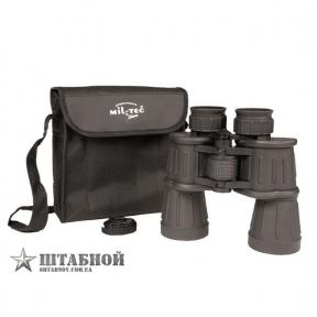 Бинокль с резиновым покрытием (7х50) - Mil-Tec (Черный)