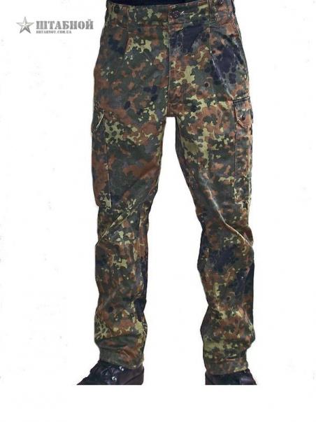 Брюки BW Бундесвер - Orginal Bundeswehr (Камуфляжные) (б/у, отличное состояние)