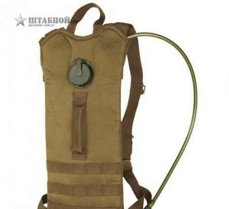 Бак для воды - гидратор Basic с лямками, 3 л. Mil-tec (Койот)