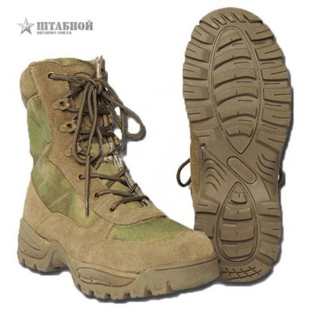 Ботинки тактические на молнии - Mil-tec (A-TACS FG)