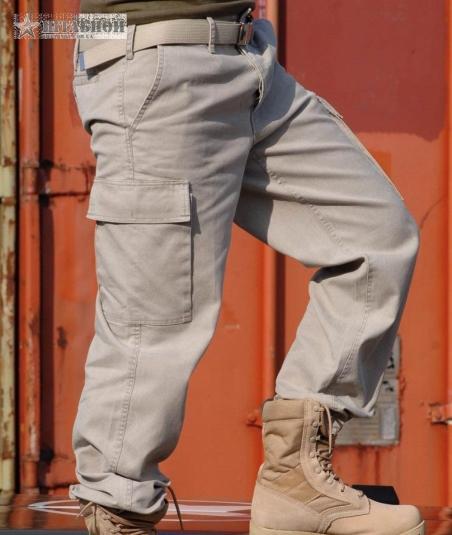 Брюки молескиновые патрульные - Mil-tec (Серые)