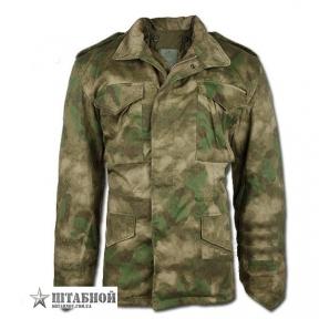 Куртка М65 с подкладкой - Mil-tec (A-TACS FG)