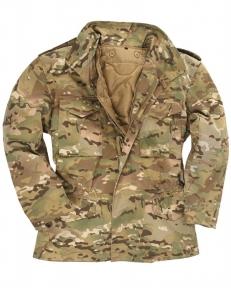 Куртка М65 с подкладкой - Mil-tec (Мультикам)