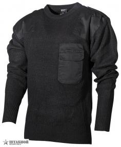 Пуловер BW акриловый - Max Fuchs (Черный)