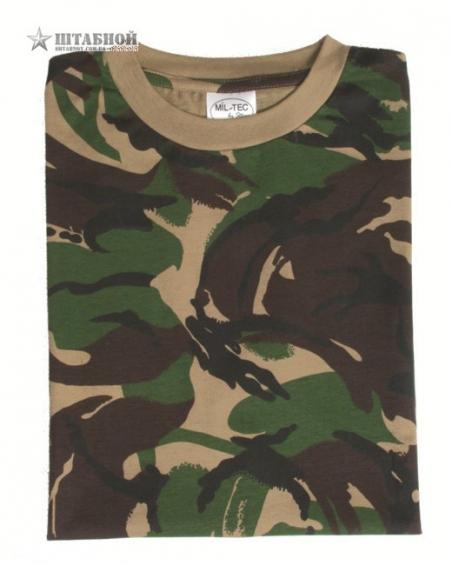 Камуфлированная футболка - Mil-tec