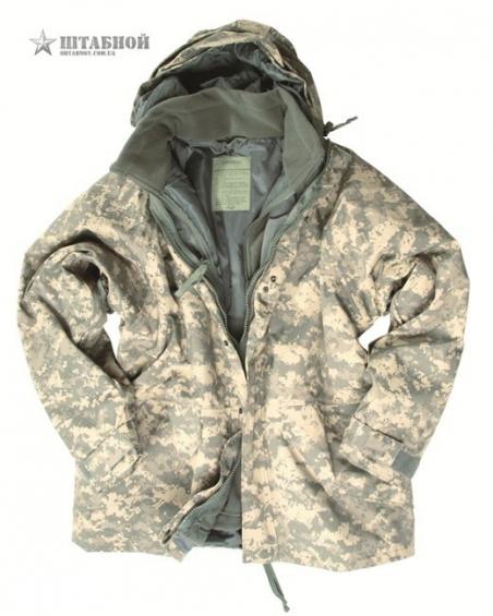 Куртка непромокаемая с флисовой подстёжкой - Mil-tec (AT-Digital)