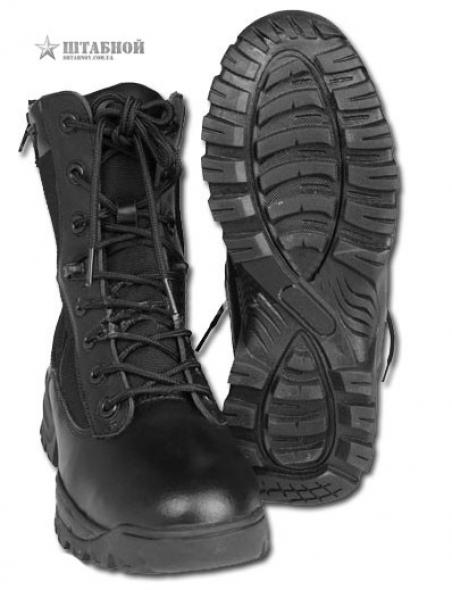 Ботинки тактические 2 молнии - Mil-tec (Черные)
