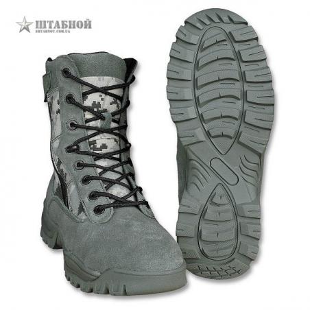 Ботинки тактические 2 молнии - Mil-tec (AT-Digital)
