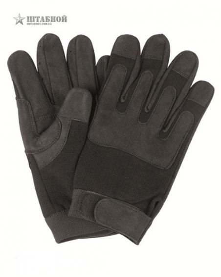 Армейские перчатки - Mil-tec (Черные)