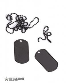 Жетон армейский США оригинал - Mil-Tec (Черный)