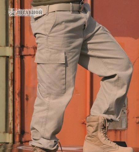 Брюки молескиновые патрульные - Mil-tec (Хаки)