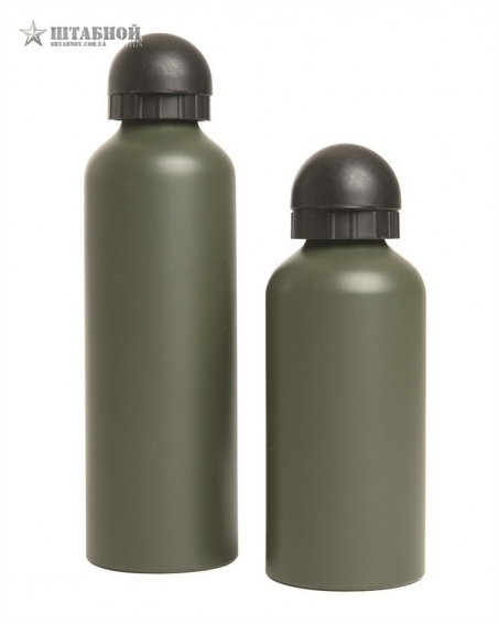 Бутылка Mil-Tec аллюминиевая 500ML (Оливковая)