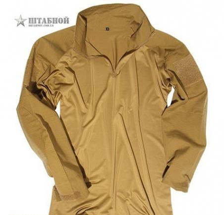 Тактическая полевая рубашка - Mil-tec (Койот)